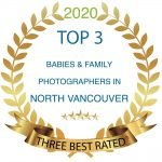 Award Top 3 Baby, Newborn and Family Photographer in North Vancouver from Best Rated