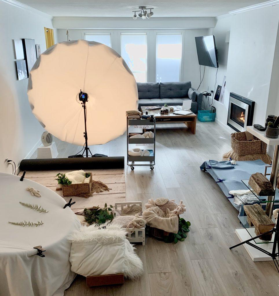 North Vancouver Newborn Photographer Studio